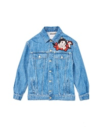 Moschino Porky Petunia Pig Denim Jacket