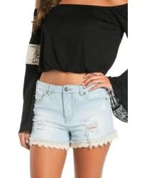 Elan Lace Trim Shorts