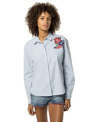 Tommy Hilfiger Embroidered Stripe Shirt