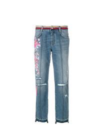 Ermanno Scervino Embroidered Jeans