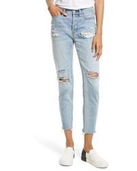 Lacey stilt embroidered crop jeans medium 3992446