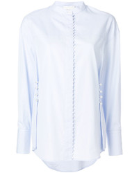 3.1 Phillip Lim Long Sleeve Pearl Embroidery Shirt