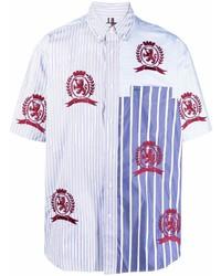 Tommy Hilfiger Stripe Print Embroidered Shirt