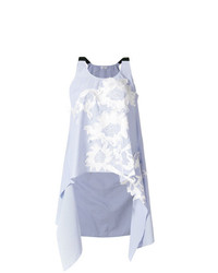 Avi floral embroidered flared blouse medium 7736508