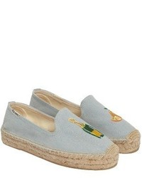 Soludos Mimosa Embroidered Platform Espadrille