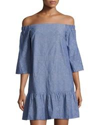 Waverly Grey Randy Off The Shoulder Eyelet Dress