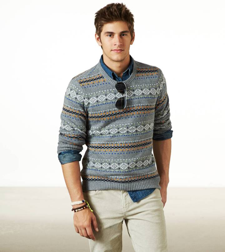 American Eagle Fair Isle Sweater | Where to buy & how to wear