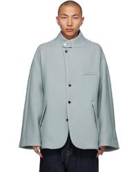 Fumito Ganryu Grey Vintage Modern Jacket
