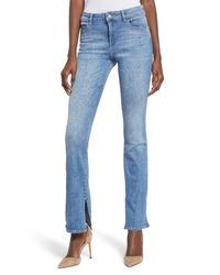 DL 1961 Bridget Split Hem Bootcut Jeans