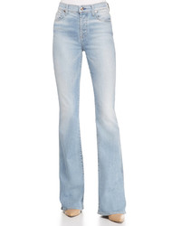Light Blue Bootcut Jeans Womens - Jon Jean