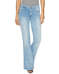 7 For All Mankind The Slim Cotton Clean Pocket Flared Jean