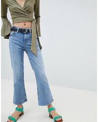 New Look Crop Kick Flare Jean