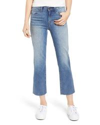 BP. High Waist Crop Flare Jeans