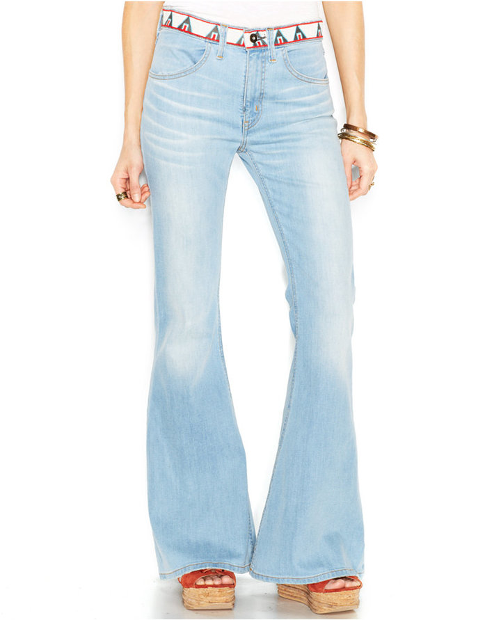 Where to buy high waisted flare jeans