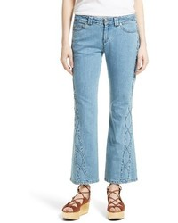 See by Chloe Iconic Ankle Flare Jeans