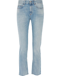 Gucci Low Rise Bootcut Jeans Light Denim