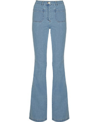 Michael Kors Michl Kors Collection High Rise Flared Jeans