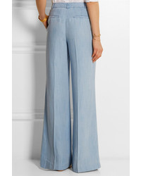 MICHAEL Michael Kors Michl Michl Kors Chambray Wide Leg Pants ...
