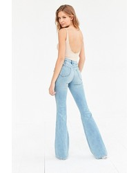 BDG Morrison High Rise Flare Jean Light Blue