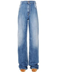 Maison Margiela Reconstructed Flared Denim Jeans