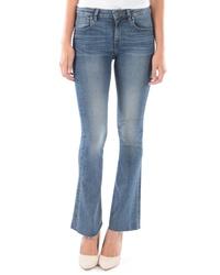 KUT from the Kloth Stella Raw Hem Flare Jeans
