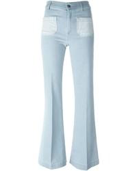 The Seafarer Front Pocket Flared Jeans