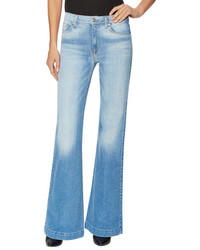 7 For All Mankind Ginger Denim Flared Jean
