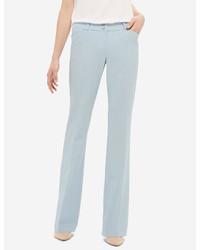 Light Blue Flare Pants