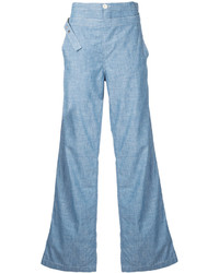Chloé High Waisted Denim Flares