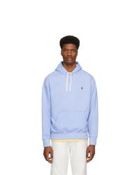 Polo Ralph Lauren Blue Fleece Hoodie