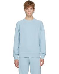 Tom Ford Blue Fleece Gart Dyed Sweatshirt