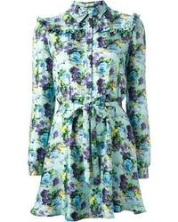 Msgm floral dress medium 103190