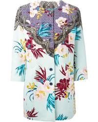 Etro Flower Print Coat