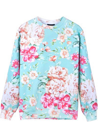 Topman Hawaiian Floral Print Sweatshirt | Where to buy & how to wear