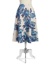 Floral shimmer skirt medium 565756