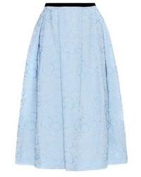 Erdem Imari Floral Jacquard Skirt