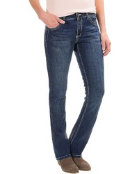 Simply Blue Riah Bootcut Jeans Low Rise