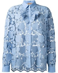 No.21 No21 Floral Embroidered Shirt