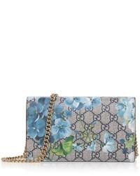 Gucci Floral Printed Crossbody Shoulder Bag