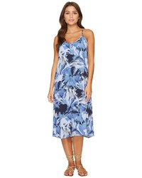 RVCA Chasing Shadows Floral Midi Dress Dress