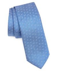 BOSS Neat Silk Skinny Tie