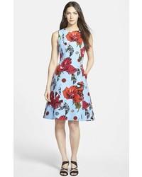 Classiques Entier Fit Flare Cotton Silk Dress