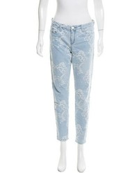 Patterned skinny jeans medium 6483594