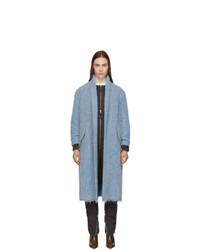 Isabel Marant Etoile Blue Boucle Faby Coat