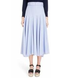 Stripe cotton skater skirt medium 6987297