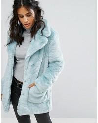 Glamorous Coat In Faux Fur
