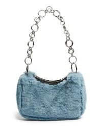 Topshop Faux Fur Shoulder Bag