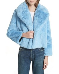 DVF Faux Fur Jacket