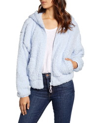 Lou & Grey Fluffy Faux Fur Jacket