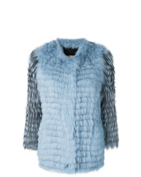 Yves Salomon Fur Midi Coat